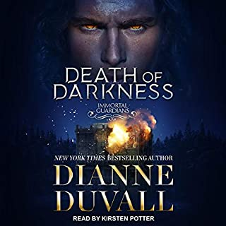 Death of Darkness audiobook cover art