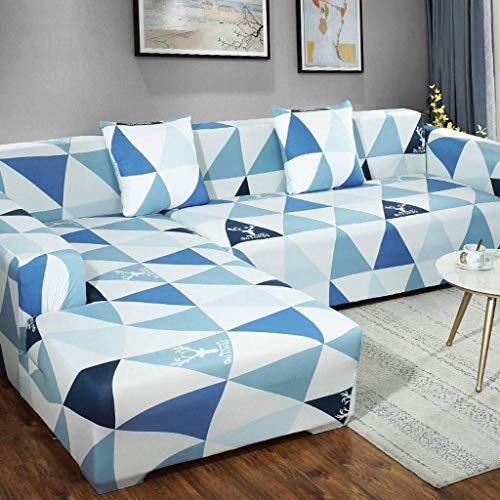 Jonist Funda de sofá en Forma de L de 3 plazas, Funda de so