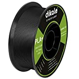 PLA 3D Printer Filament Neatly Rolled 2.2 lbs (1KG)- 1.75mm Pla Filament, Dimensional Accuracy +/- 0.03 mm, White