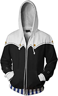 Anime Game Plus Size Sweater Hooded Hoodie Cosplay Costume Jacket