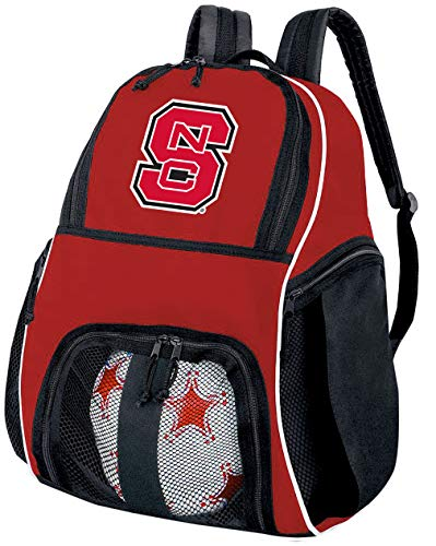 Broad Bay NC State Soccer Ball Backpack or NC State Wolfpack Volleyball Bag