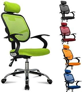 GFL-Sedie Sedia Pieghevole Imbottita in Pelle PU per Ufficio con Struttura in Metallo Rinforzata e Schienale per Computer A++ Colore : Blu