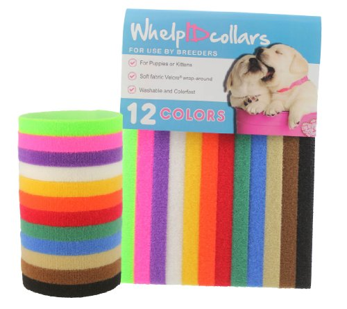 UNLEASHED.DOG Puppy ID Bands - 12 Colors Tragetasche/Schultertasche Faltbar Träger Pet Carrier Bag Large Size 15.7
