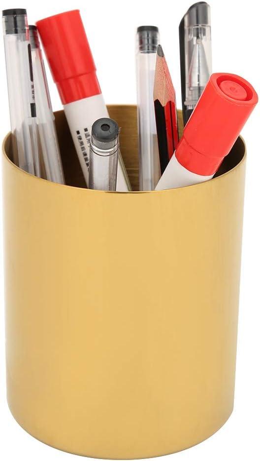 ohcoolstule Pencil 2021 Cup Holder Desk H Pot Gold Organizer New life Pen