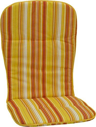 Beo Hochlehner Monoblock in gelb weiß rot orange gestreift