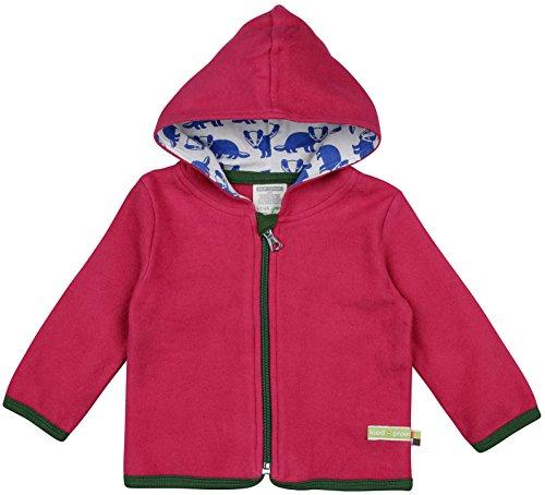 loud + proud loud + proud Unisex Baby Jacke Fleece, Violett (Berry Ber), 62/68