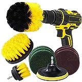 MaoXinTek Spazzola per Trapano 10 Pezzi Set di Pulizia Drill Brush Power Scrubber per Toilette Cucina Bagno Doccia Piastrelle Lavello Auto