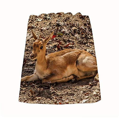 ART VVIES Handtücher Gazelle Impala Mutter Antilope Afrika Kalb Tier Absorbent Super Light 35x73cm Home Decorations Kunst Leicht zu tragen