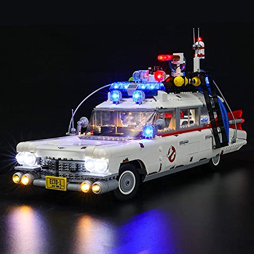 BRIKSMAX Led Beleuchtungsset für Lego Creator Ghostbusters™ ECTO-1 - Compatible with Lego 10274 Bausteinen Modell - Ohne Lego Set
