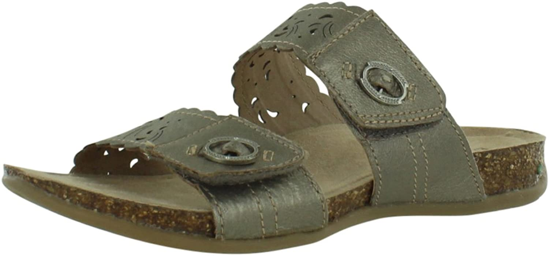 Earth Origin Tessa Platinum Wide Sandals Women's shoes Size 7