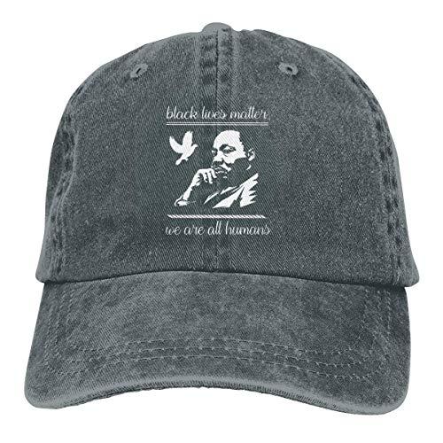 NI Stop Stop Racism Cowboy Washed Cotton Hat Gorra de béisbol Polo Ajustable Trucker para Mujeres, Hombres