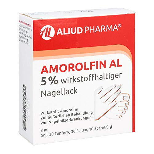 Amorolfin AL 5% Wirkstoffhaltiger Nagellack, 3 ml