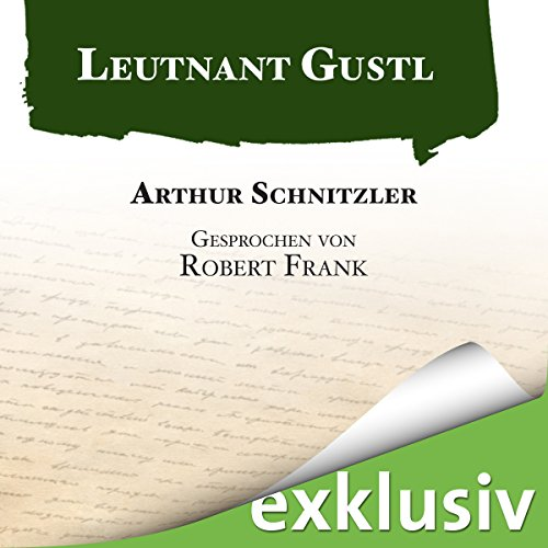 Leutnant Gustl audiobook cover art