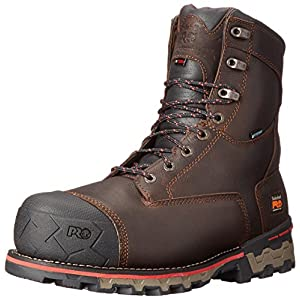 Timberland PRO Men's 8″ Boondock Comp-Toe Waterproof Work Boot