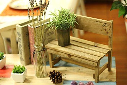 不二貿易木製ミニベンチインテリアブラウン46016