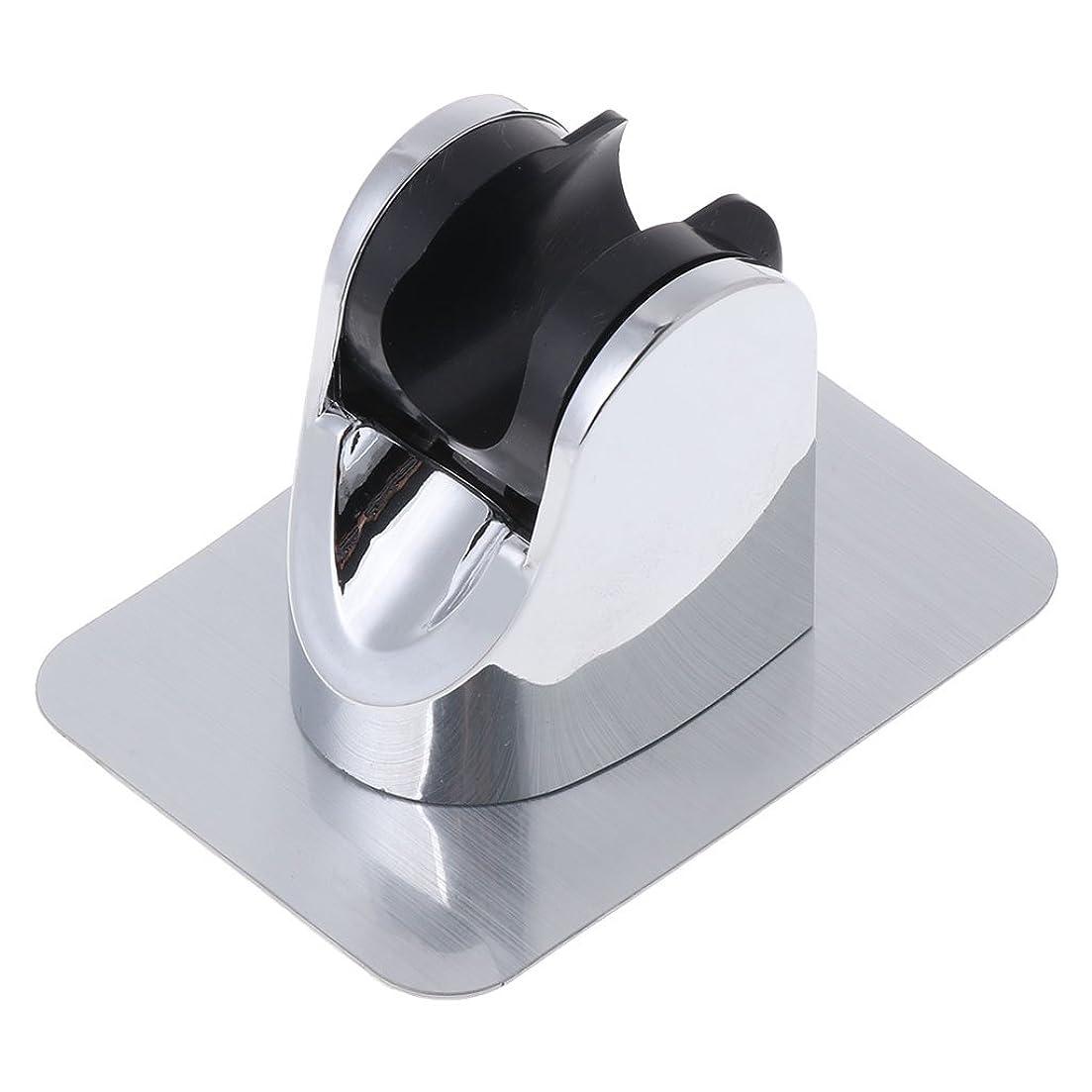 三番見込み性交Lamdooヘッドホルダー調節可能ドリルブラケットマウントシャワーハンドなしステッカー