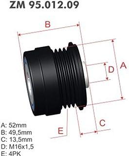 Polia Alternador Roda Livre (Catraca) FOCUS - ZM9501209