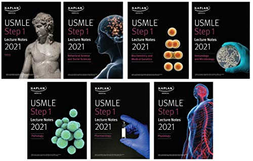 USMLE Step 1 Lecture Notes 2021: 7-Book Set
