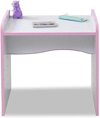 JKプラン 安全 キッズ つくえ 子供 勉強机 高さ調整 可能 デスク キッズデスク 子供用 幅60 奥行45 高さ 6段階 ピンク TSFES0001WHPK