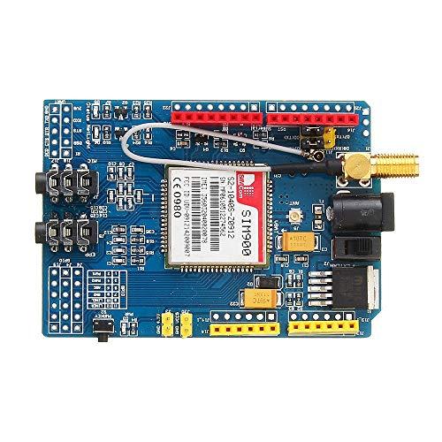 DASEXY Electrónica para Arduino SIM900 Quad Band gsm GPRS Shield Placa de Desarrollo