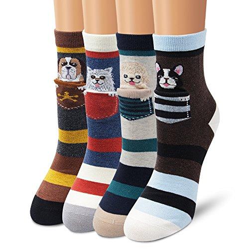 Ambielly calcetines de algodón calcetines térmicos Adulto