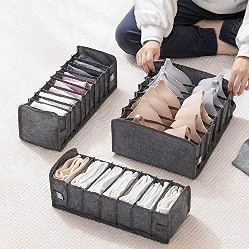 Wopam Unterwäsche Höschen Slip Socken Aufbewahrungsbox Organizer Schubladentyp für Home Schlafzimmer