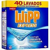 Wipp Express Detergente Polvo 40 Cacitos