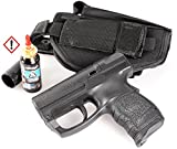 Security-Discount Germany - Personal Defense Pistole Walther PDP im Set mit Pfefferkartusche und HQ-Grtelholster