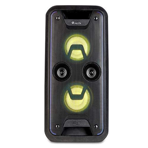 "Altavoz portátil USB/SD/Bluetooth/Radio FM con Doble subwoofer de 5,25"" y 120W de..."