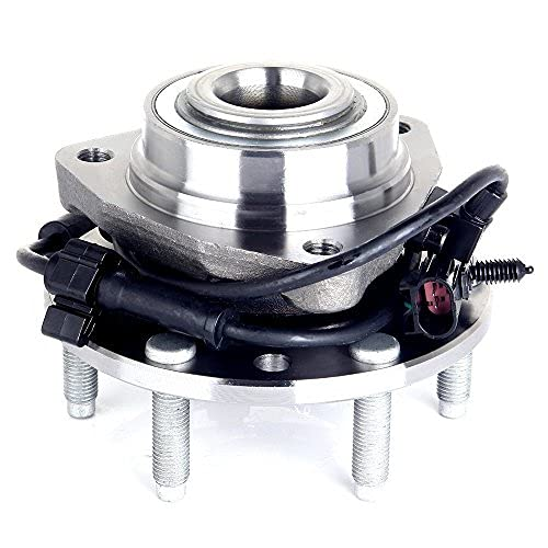 ECCPP Wheel Bearing Hub for 2002-2009 GMC Chevy Compatible with 513188 6 Lugs W/ABS