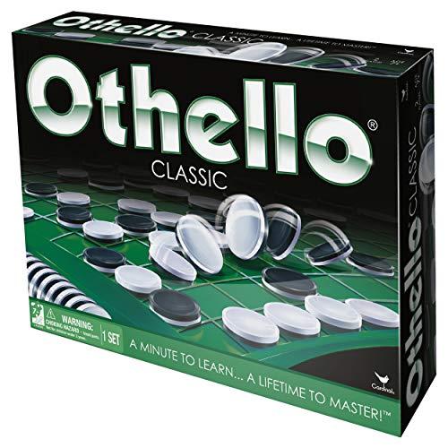 Spin Master Games 6038101 - Othello, taktisches Brettspiel (inkl. deutscher Anleitung)