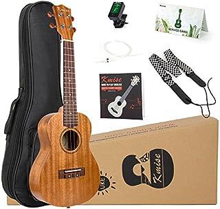 Tenor Ukulele Mahogany 26 inch Ukelele Uke for Beginner with Instruction Booklet Strap Tuner Picks String and Gig Bag