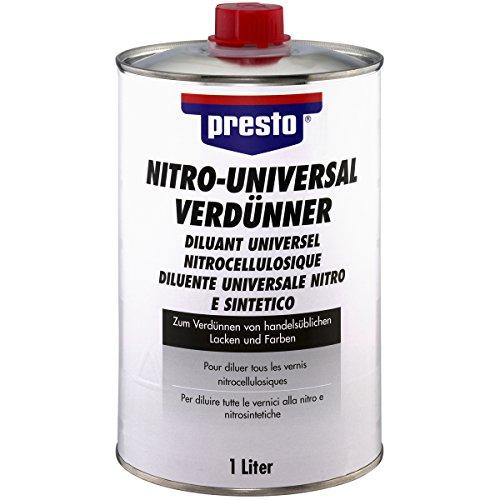 Presto 171642 Nitro-Universalverdünner 1 Liter, Grey