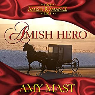 Amish Hero audiobook cover art