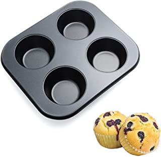 Cupcake Pan Nonstick Baking Tray Carbon Steel Baking Pans Kitchen Bakeware Cupcake Baking Muffin Pan Heat Resistant Cake B...
