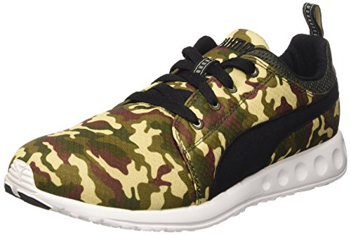 PUMA Unisex-Erwachsene Carson Runner Army Camo Sportschuhe, grün, 7,5