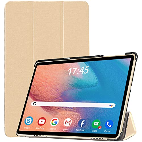 Tablet 10.1 Pollici, DUODUOGO Android 10 Tablet offerte Octa-Core, 6GB RAM + 64GB ROM, 512GB Espandibili, Batteria 6500mAh, Fotocamera 8MP,4G Dual SIM, 5G WiFi, GPS, Bluetooth - Oro