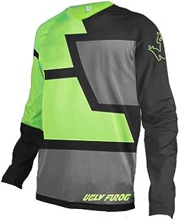 Uglyfrog Mens Downhill Jersey Rage MTB Cycling Top Cycle Long Sleeve Motocross Mountain Bike Shirt Z05