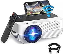 ✿【Connexion WiFi & Écran Tactile】Le projecteur prend en charge la connexion WiFi pour les systèmes Android et iOS, ce qui peut garantir que vous connectez votre appareil au WiFi dans les 30 secondes pour partager des photos / vidéos de votre téléphon...