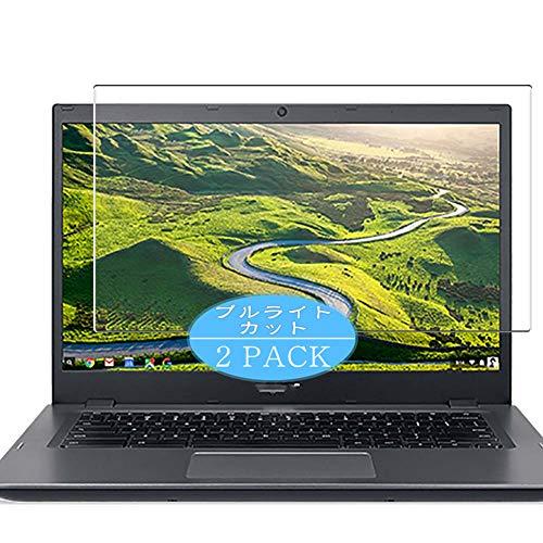 VacFun 2 Piezas Filtro Luz Azul Protector de Pantalla, compatible con Acer Chromebook 14 CP5-471 14', Screen Protector Película Protectora(Not Cristal Templado) NEW Version