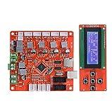 Módulo de controlador de pantalla de pantalla inteligente Anet LCD con controlador de cable Placa base de 12V 24V para impresora A8 3D