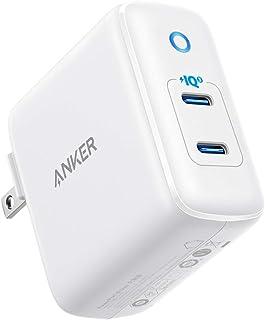 Anker PowerPort III Duo (PD対応 36W 2ポート USB-C 急速充電器) 【PSE技術基準適合/折りたたみ式プラグ搭載/PowerIQ 3.0搭載 / USB Power Delivery対応/コンパクトサイズ】i...