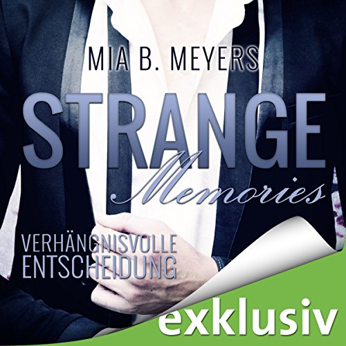Strange Memories audiobook cover art