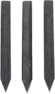 Abba Patio Landscape Edging Wood-Plastic Composite Garden Stakes 10 Count, 12 inch