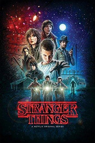 Stranger Things Key Art Póster Standard, Papel,