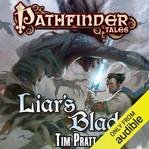 Liar's Blade audiobook cover art
