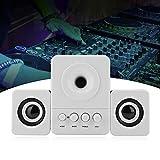 Weikeya Bluetooth Altavoz, Abdominales Hecho 3.5mm Audio Interfaz 1M/39.37 Pulgadas Escritorio Mini Subwoofer