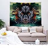 NHhuai Tapiz para Colgar en la Pared, Tapestry, Dormitorio hogar Tapiz Animal Print