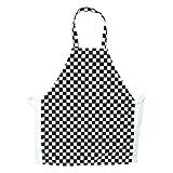 pour enfants tabliers de cuisine d'école fun à carreaux style en plusieurs couleurs et tailles,