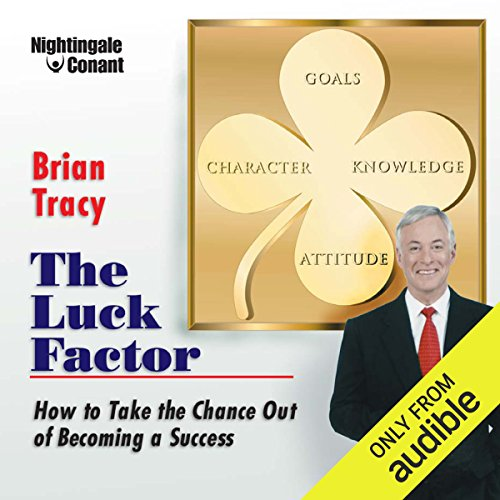 The Luck Factor audiobook cover art